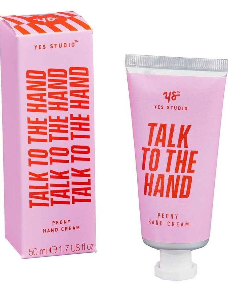 Wild & Wolf Talk To The Hand Cream, Peony