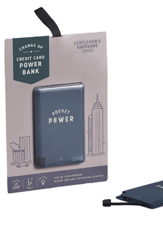 Wild & Wolf Power Bank, Card Size