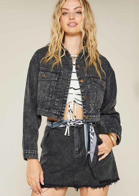 Sadie & Sage Real Love Denim Jacket