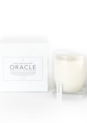 Little Box of Rocks Oracle Hidden Gemstone Candle
