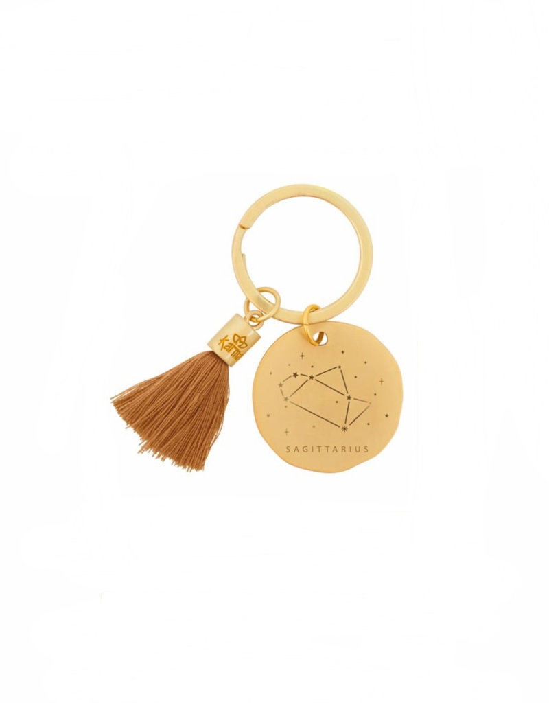 Karma Zodiac Key Chains