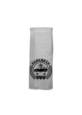 Twisted Wares Suburban Gangster Tea Towel