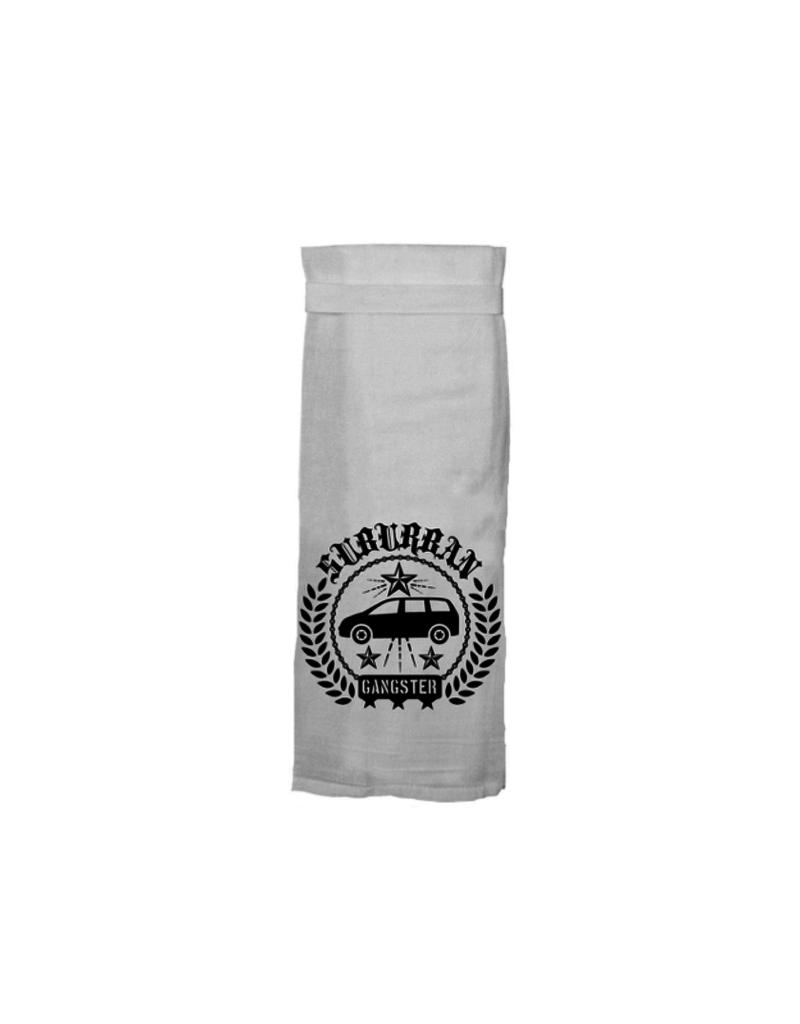 Twisted Wares Suburban Gangster Tea Towel