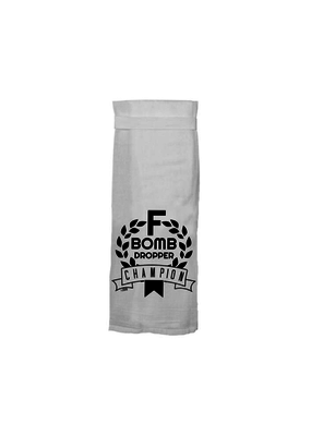 Twisted Wares F Bomb Tea Towel