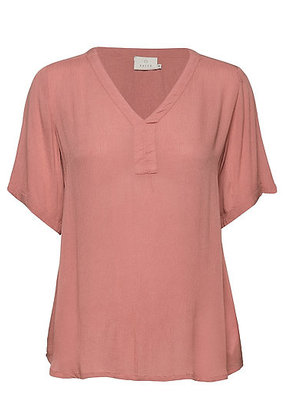 Kaffe Amber SS Blouse Old Rose