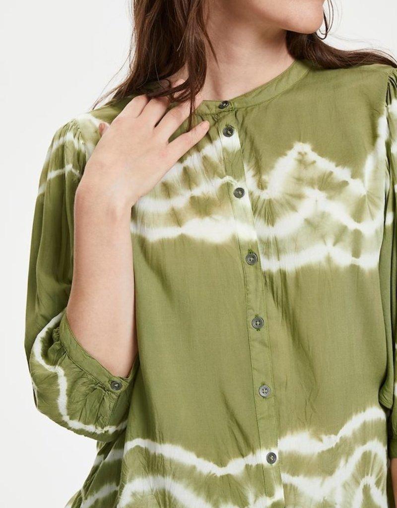 Cream Tarahi Tie Dye Blouse