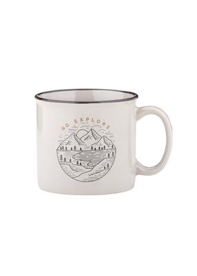 C.R Gibson Go Explore Mug