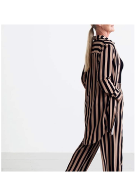 Kaffe Kalva Striped Long Shirt