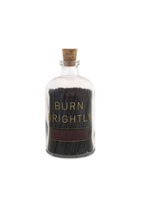 Skeem Design Apothecary Match Bottle Burn Brightly