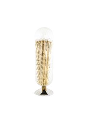 Skeem Design White Helix Fireplace Match Cloche