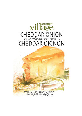 GOURMET VILLAGE Cheddar Onion