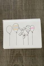 Gold Moon Artistry Birthday Balloons