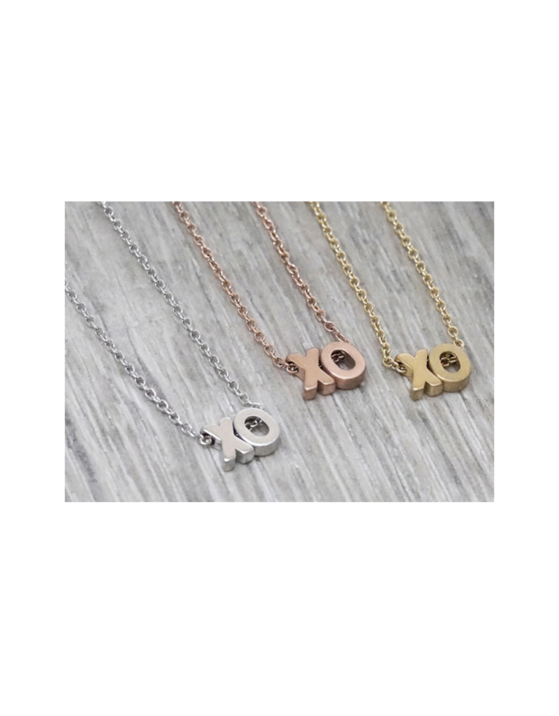FAB Accessories XO Necklace