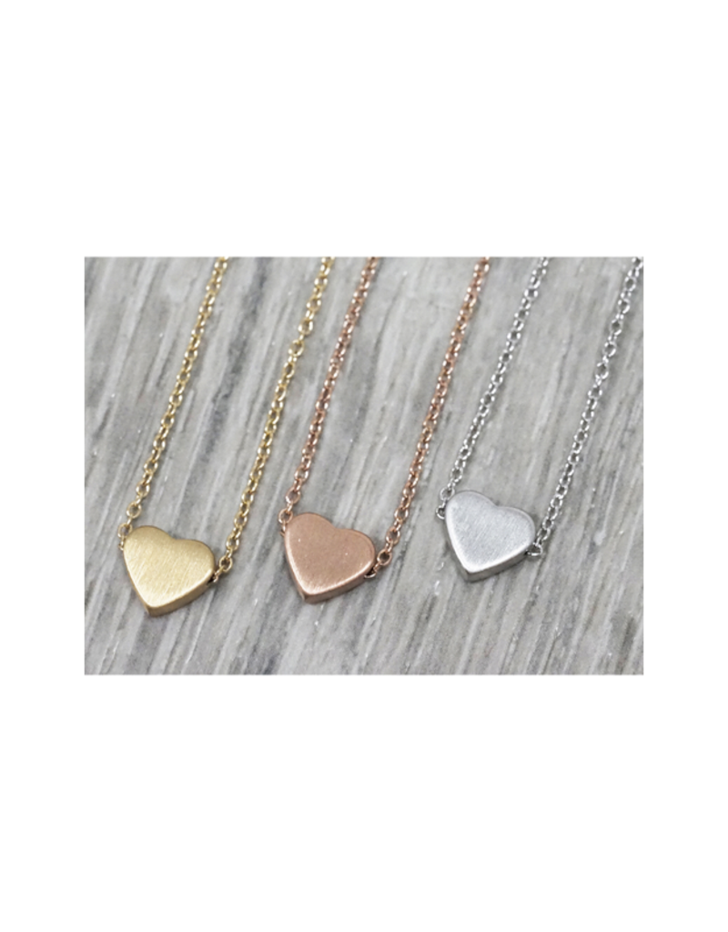 FAB Accessories Simple Heart Necklace