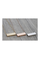 FAB Accessories Luxe Rectangle Necklace