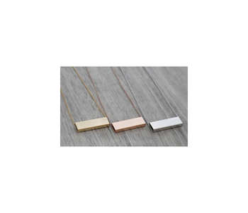 Luxe Rectangle Necklace