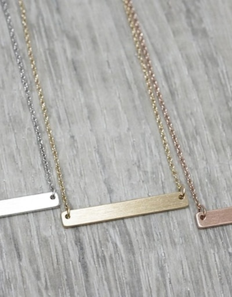 FAB Accessories Bar Necklace