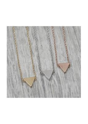 jj + rr Petite Triangle Necklace