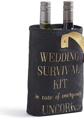 Mona B Wedding Survival Kit Dbl. Wine Bag