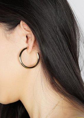 jj + rr Classic Bold Hoop Earrings