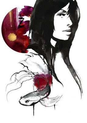 Kristen Baker Art Kristen Baker Art - Scarlette Skies