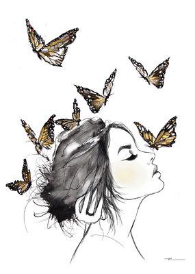 Kristen Baker Art Kristen Baker Art - Monarchs