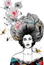 Kristen Baker Art Kristen Baker Art - Geisha