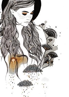 Kristen Baker Art Kristen Baker Art - Daydreamer