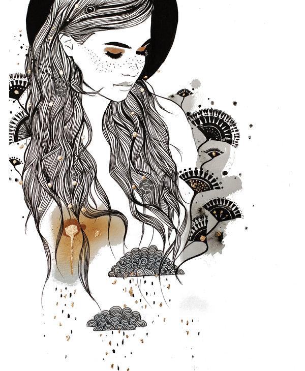 Kristen Baker Art - Daydreamer