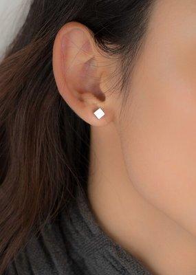 jj + rr Square Stud Earrings