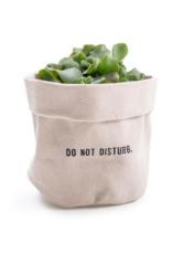 Sugarboo & Co. Do Not Disturb Canvas Planter