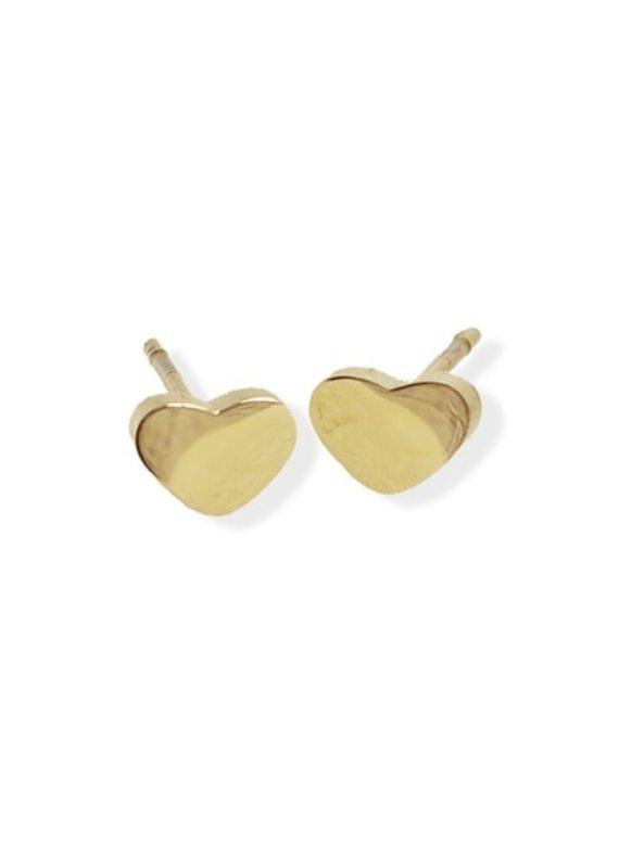 FAB Accessories Heart Earrings