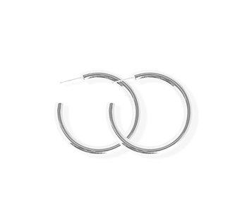 Luxe Bold Hoop Earrings