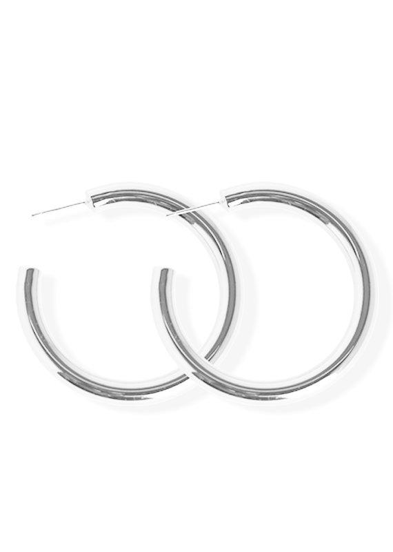 FAB Accessories Luxe Bold Hoop Earrings