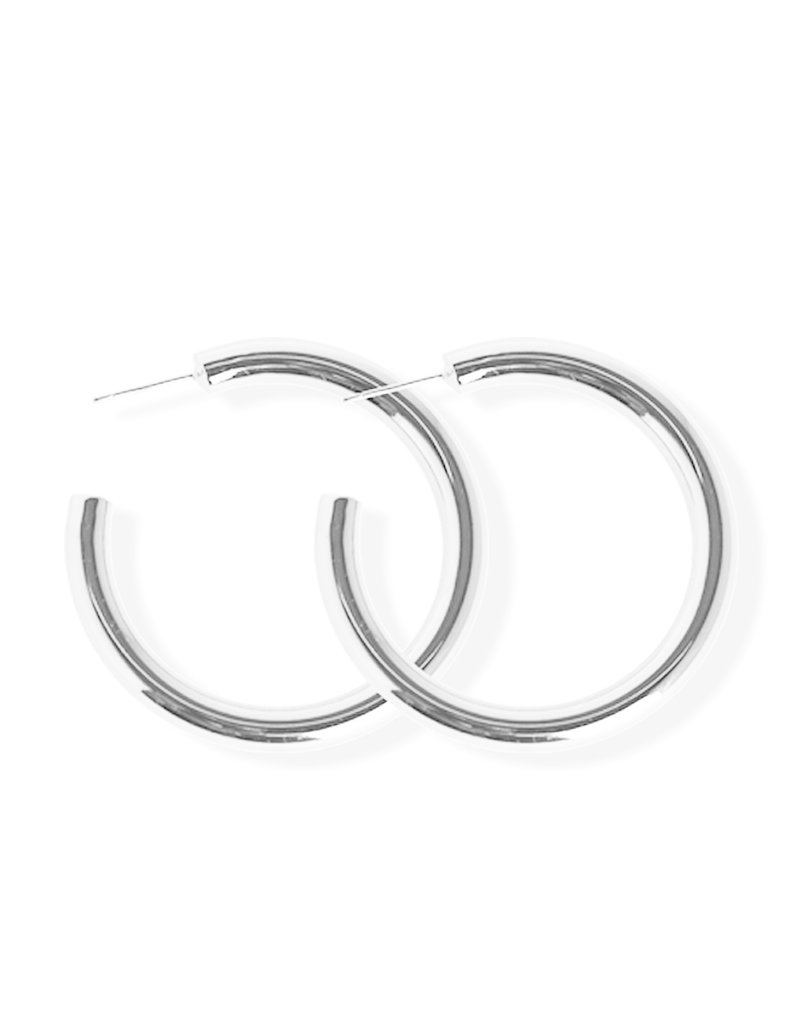 FAB Accessories Luxe Bold Hoop Earrings