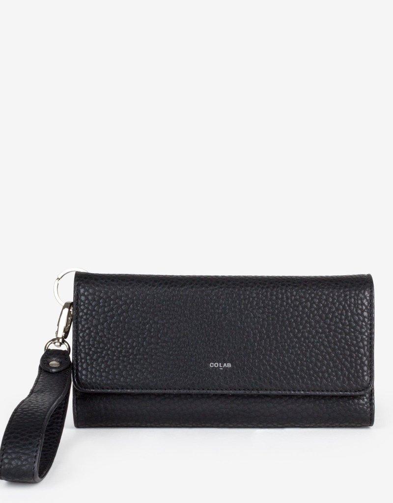 COLAB Pebble Tri-fold Wristlet Wallet