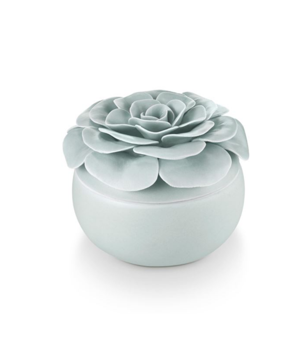 Fresh Sea Salt Ceramic Flower