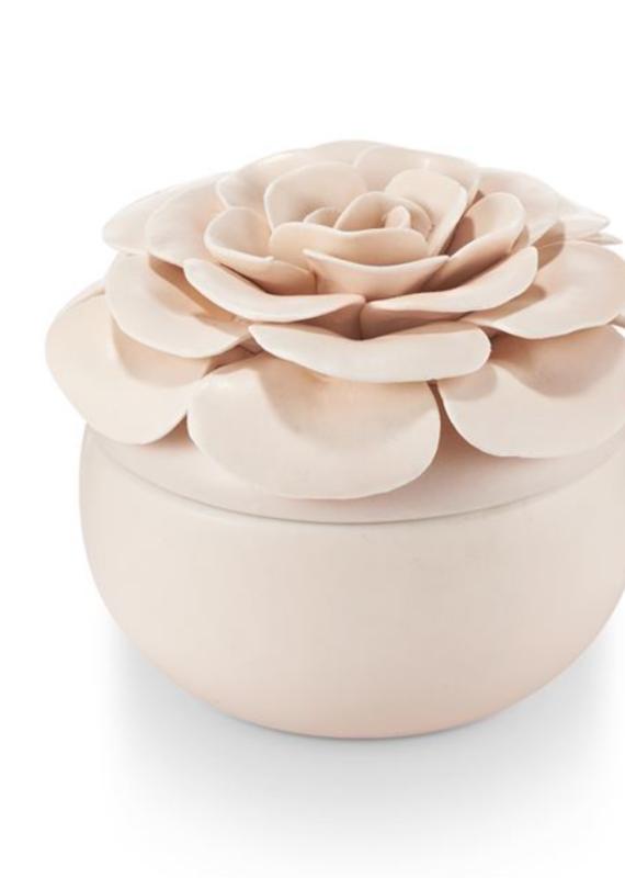 Illume Coconut Milk Mango Ceramic Flower