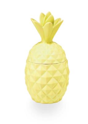 Illume Pineapple Cilantro Ceramic Pineapple