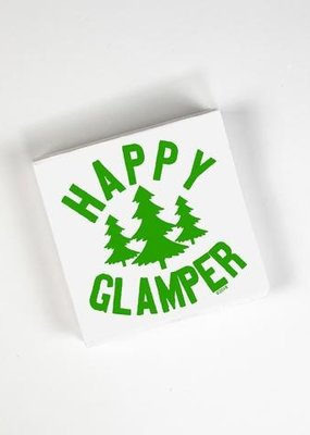 Twisted Wares Happy Glamper Napkins