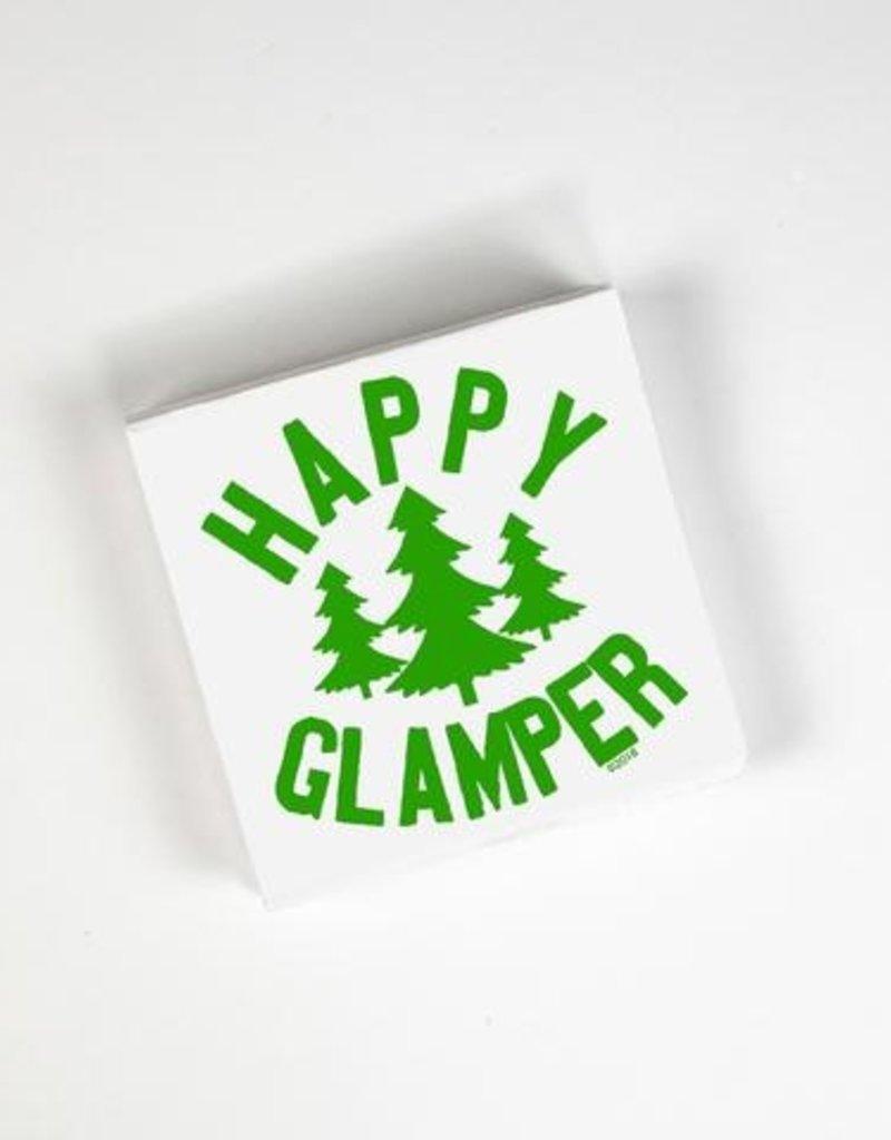 Twisted Wares Happy Glamper Napkins