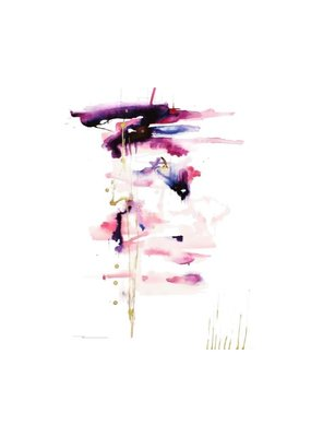 "Kristen Baker Art ""The Coral Plunge"" Card"