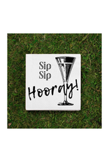 Twisted Wares Sip Sip Hooray Cocktail Napkins