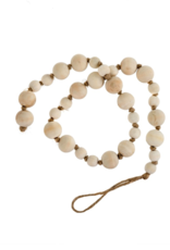 Indaba Trading Co. Natural Wooden Prayer Beads