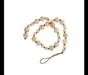 Natural Wooden Prayer Beads