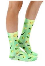 Living Royal Trippy Pickle Crew Socks