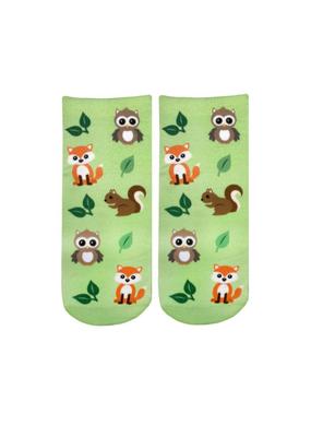 Living Royal Woodland Animals Ankle Socks