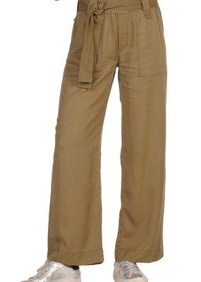 Elan Pants With Belt Olive