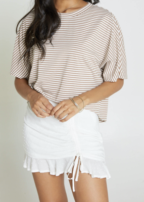 Sadie & Sage Island Life Stripe Knit Top - Earth