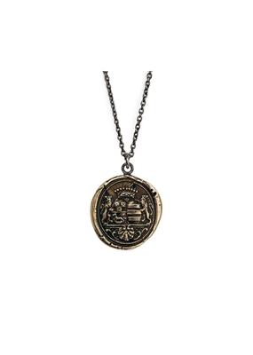 Pyrrha Wanderlust Bronze Curb Chain 22in